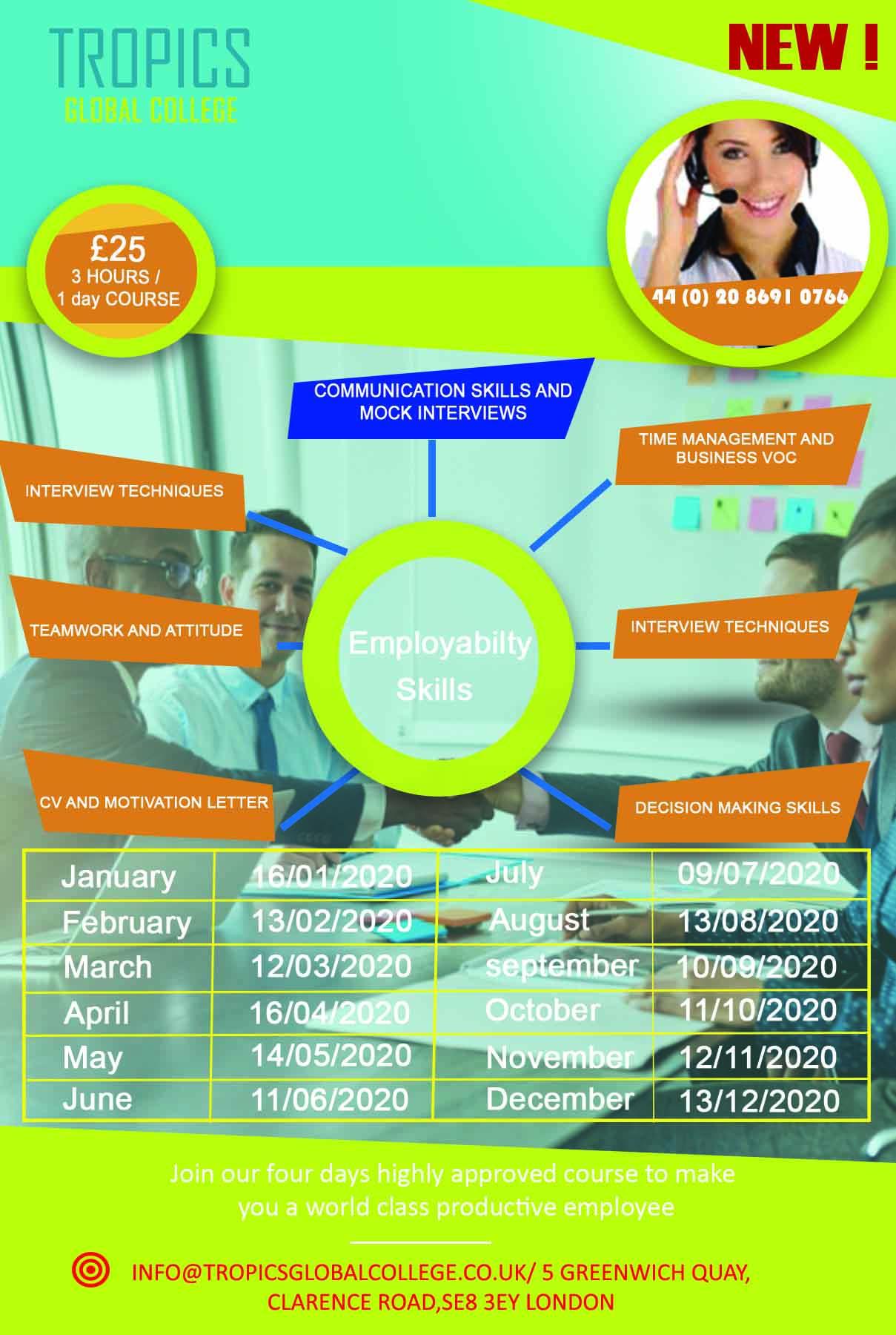 Employability Skills courses