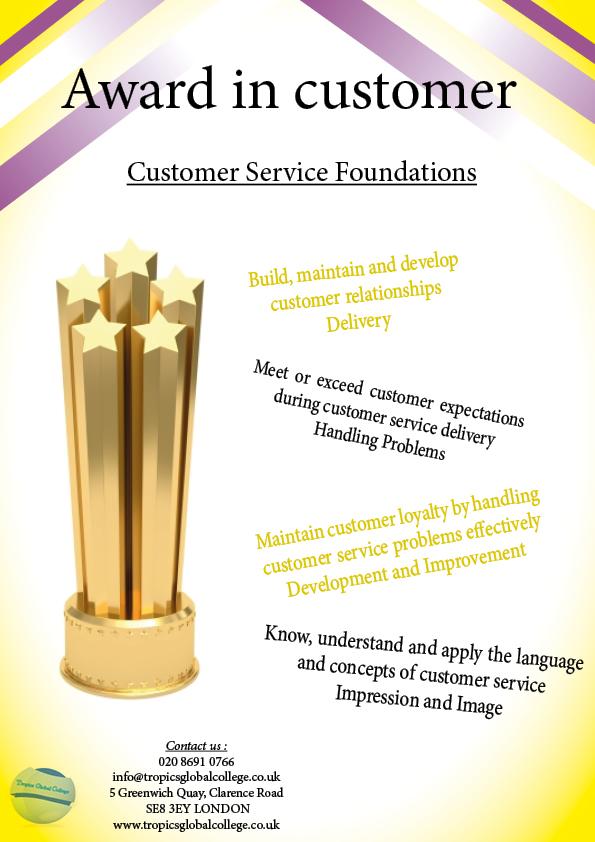 Award in customer