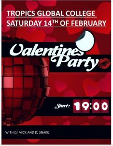 Tropics Global College Valentines Party F