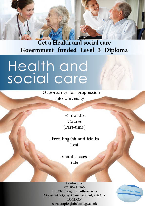 level 2 dip health social Btec nationals health and social care (2010) specification pearson btec level 3 diploma in health and social care level: level 3 accreditation status.